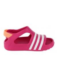 B25030 Adidas Adilette Play I (bopink/ftwwht/bopink)