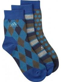 O05590 Adidas T Graphic B βρεφικές κάλτσες 3 ζευγάρια