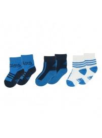 V35752 Adidas T Infants βρεφικές κάλτσες 3 ζευγάρια