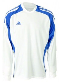 622676 Adidas Ισοθερμική Μπλούζα Χρώμα Λευκό/Μπλε Ρουά