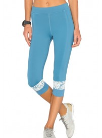 AI8443 Adidas Stella McCartney Run 3/4 Tight (chiblu)