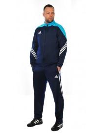 F49713 Adidas Sereno 14 PES Suit (newnav/supcyan/wht)