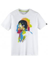 F79181 Adidas YB Messi Tee (white)