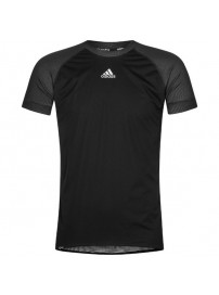 F87539 Adidas Warm Wind Baselayer Cycling Shirt (black/reflective silver)