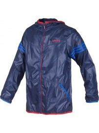 G82926 Adidas Neo 3S Wbrk Windbreaker (colle navy/satellite)