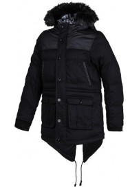M32480 Adidas Utility Ballfiber Parka Black Jackets (black)