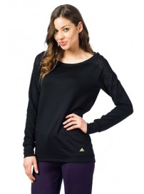 W52700 Adidas Performance SPO E Sweatshirt Χρώμα Μαύρο