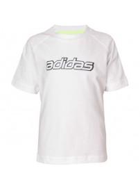 X38075 Adidas Testa Graph Tee (white)