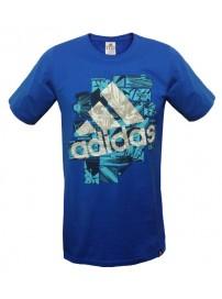 Z04091 Adidas QQRSSMashperfor Tee (prime blue)