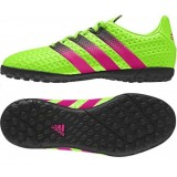 AF5079 Adidas Ace 16.4 TF J (sgreen/shock pink/cblack)