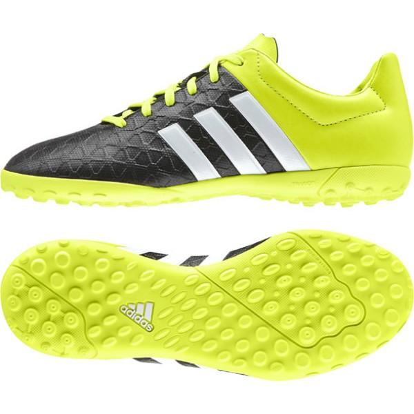 b41d2b6ba14 B27022 Adidas Ace 15.4 TF J (cblack/ftwwht/syello)