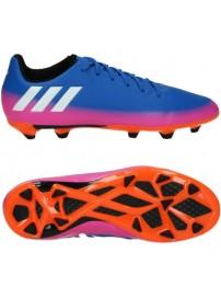 BA9147 Adidas Messi 16.3 FG J (blue/ftwwht/sorang)