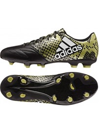 BB4195 Adidas X 16.3 FG Leather (cblack/ftwwht/goldmt)