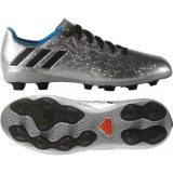 S79647 Adidas Messi 16.4 FXG J (silvmt/cblack/shoblu)
