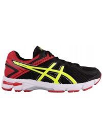 C558N 9007 Asics GT 1000 4GS (black/flash yellow/racing red)