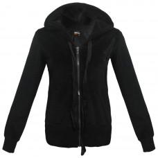 71810 BDA Body Action Hooded Sweatshirt Χρώμα Μαύρο