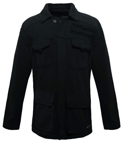 bf290c06fa6d 73808 Body-Action BDA Ανδρική ζακέτα Χρώμα Μαύρο
