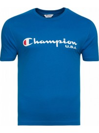 206192 3499 Champion Classic Crew Neck T-shirt (blue royal)
