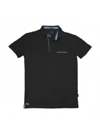 PS-224 Double Polo Jersey (black)