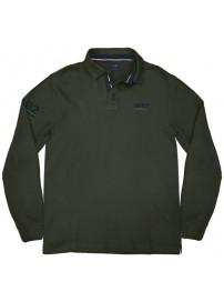 PS-232 Double Polo Jersey (dk green)