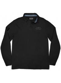 RPS-232VA Rebase Polo Jersey (μεγάλα μεγέθη)(black)