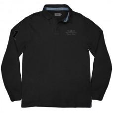 RPS-232A Rebase Polo Jersey (μεγάλα μεγέθη)(black)