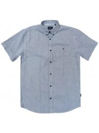 GS-476S Double Shirt Classic Line Χρώμα Μπλε/Άσπρο