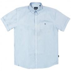 GS-476S Double Shirt Classic Line (μεγάλα μεγέθη) Χρώμα Γαλάζιο