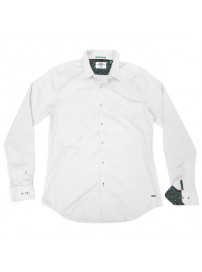 GS-482S Double Shirt Slim Line Χρώμα Άσπρο