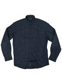 GS-470 Double Ανδρικό καρό πουκάμισο Χρώμα Μπλε/Μαύρο