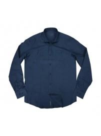GS-471 Double Ανδρικό πουκάμισο Χρώμα Μπλε