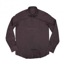 GS-471 Double Ανδρικό πουκάμισο Χρώμα Μπορντώ