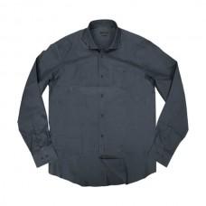GS-471VA Double Ανδρικό πουκάμισο (μεγάλα μεγέθη) Χρώμα Γκρι