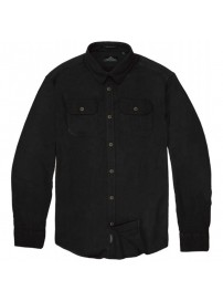 GS-494 Double Ανδρικό πουκάμισο (black)