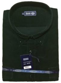 GS-5VA Double Ανδρικό πουκάμισο (μεγάλα μεγέθη) Χρώμα Κυπαρισσί
