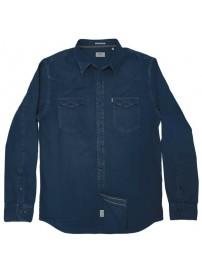 RDS-12 Rebase Denim Shirts (dark denim blue)