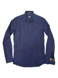 RGS-491VA Rebase All-Over Print Shirts (μεγάλα μεγέθη)(indigo)