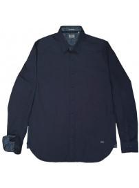 RGS-492VA Rebase Cotton Shirts (μεγάλα μεγέθη)(indigo)