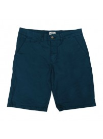 MSHO-104A Double Chinos Shorts (μεγάλα μεγέθη)(blue)