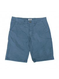 MSHO-104A Double Chinos Shorts (μεγάλα μεγέθη)(stone blue)