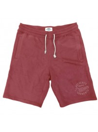 MS-14 Double Terry Fleece Shorts Χρώμα Κόκκινο