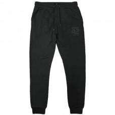 MPAN-27VA Double Terry Fleece Pants (μεγάλα μεγέθη)(black)