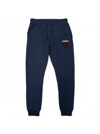 MPAN-27VA Double Terry Fleece Pants (μεγάλα μεγέθη)(navy)