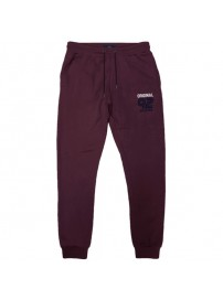 MPAN-27A Double Terry Fleece Pants (μεγάλα μεγέθη)(wine)