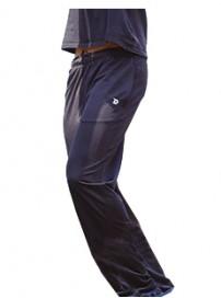 MPAN-58A Παντελόνι φόρμα γυαλιστερό (μεγάλα μεγέθη) Χρώμα Μαύρο