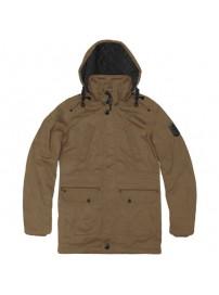 RMJK-113A Rebase Detachable Hood Parka Jacket (camel) (μεγάλα μεγέθη)