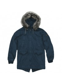 RMJK-118VA Rebase Cotton Parka Jacket (blue) (μεγάλα μεγέθη)