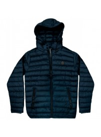 RMJK-131VA Rebase Hooded Puffer Jacket (μεγάλα μεγέθη)(navy)