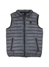 SMJK-07A Double Padded Vest (μεγάλα μεγέθη)(grey)