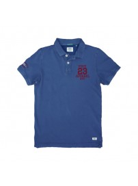 PS-221S Double Polo Pique (indigo)